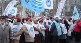Közszolgálatmentő tüntetés 2011