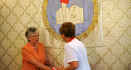 Hoffmann Rózsa az OV ülésén