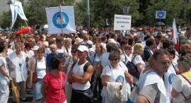Pedagógus tüntetés 2011