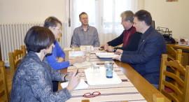 A PSZ Gyermekvédelmi Tagozata intéző bizottságának ülése
