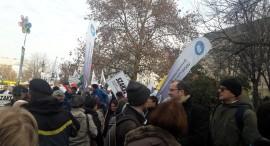 A PSZ is részt vett a január 5-ére szervezett tüntetésen