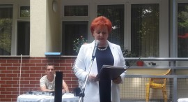Ajándékot vitt a PSZ a nyugdíjasok budapesti otthonába