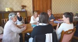 Iskolatitkárokkal találkoztak a PSZ vezetői