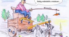 PSZ karikatúra akció