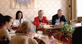 Sztrájkbizottság sajtótájékoztató 2015