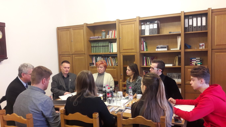 Hallgatói önkormányzatok képviselőivel találkozott a PSZ elnöksége