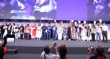 Szabó Zsuzsa az Oktatási Internacionálé világkongresszusán