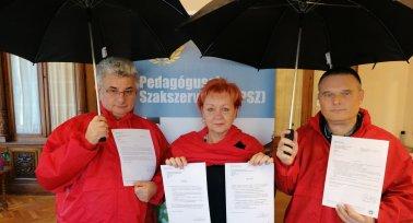 PSZ (Piros Szerda) - Vért izzadunk a béremelésért!