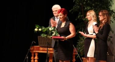 Kitüntették a PSZ Szolnok megyei elnökét